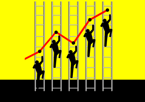 Grabbing the Ladder