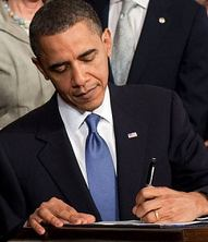 Obama Signs Health Care Law - Social Security Law Orange County