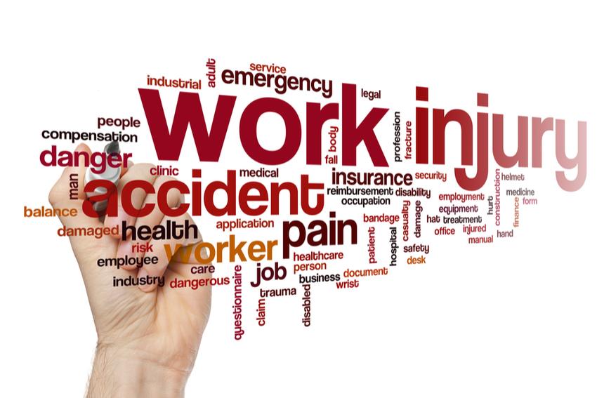 Work injury graphic